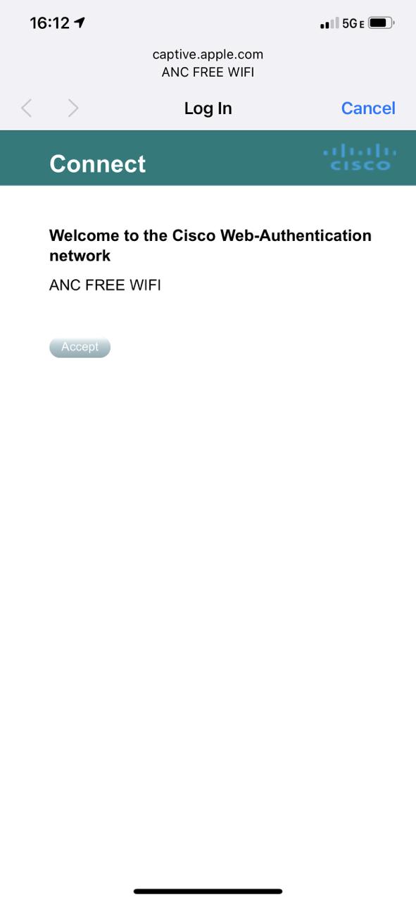 Wi-Fi доступ